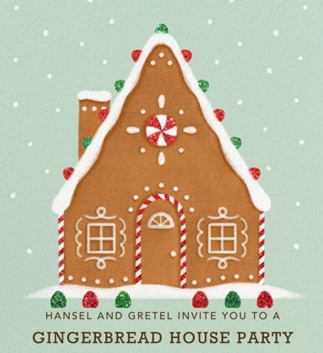 Gingerbread House Party December 7!