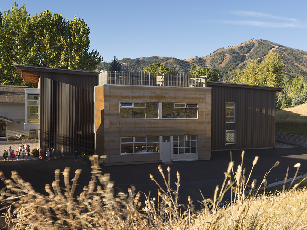 A Sun Valley Community School campus building