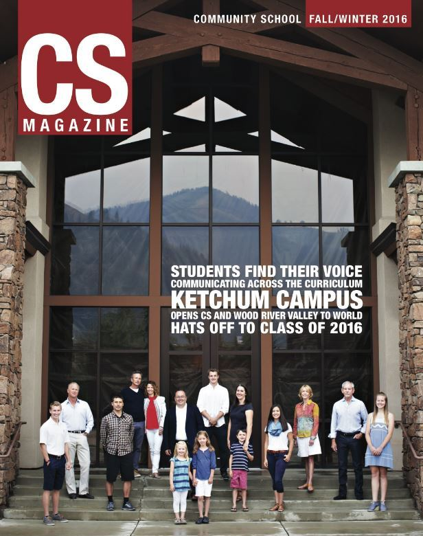 CS magazine cover of Ketchum campus