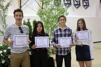 2019 All-School Awards Ceremony