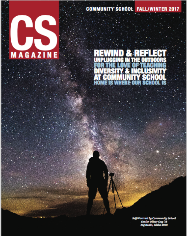 CS magazine cover of the Milky Way galaxy