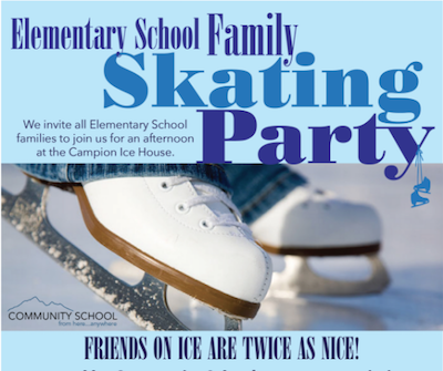 ES Family Ice Skating Party