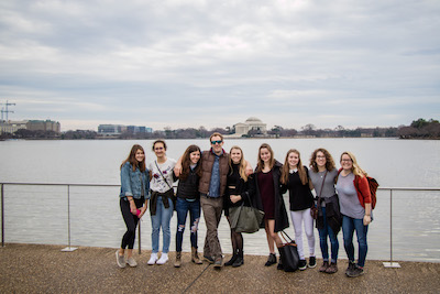 Upper School Students Visit Washington D.C. for Model United Nations Conference